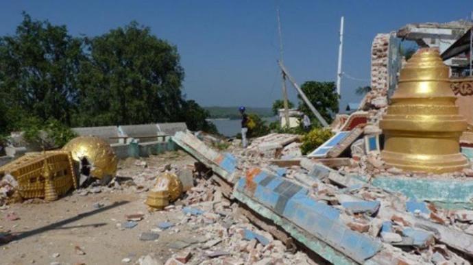 7.0 earthquake in mayanmar